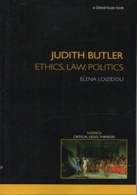 Image of JUDITH BUTLER : ETHICS, LAW, POLITICS