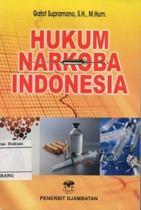 Image of HUKUM NARKOBA INDONESIA